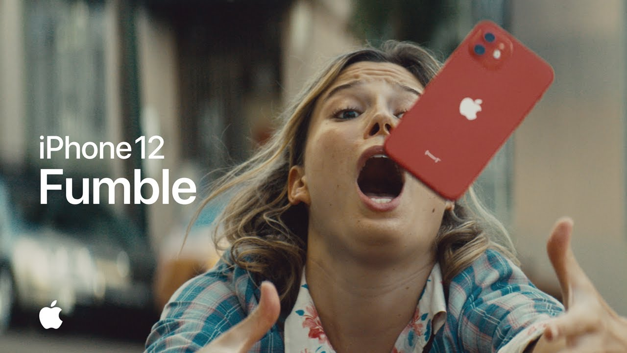 Музыка из рекламы Apple iPhone 12 - Fumble