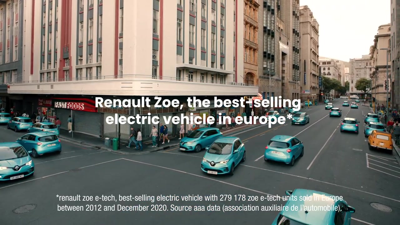 Музыка из рекламы Renault Zoe - The Chase