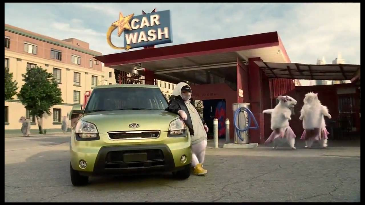 Музыка и видеоролик из рекламы Kia Soul - Hamsters - Black Sheep