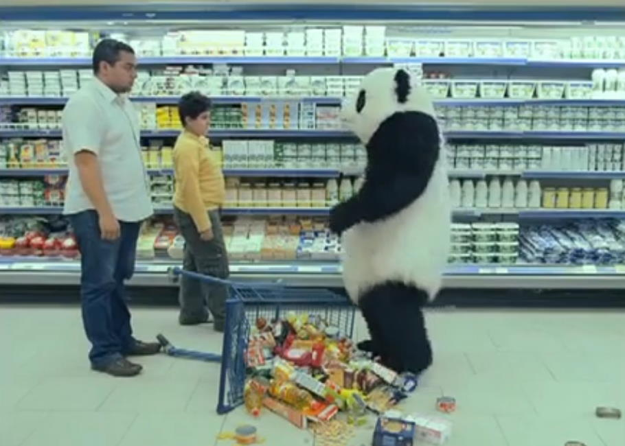 Музыка из рекламы Panda Cheese - Never Say No to Panda