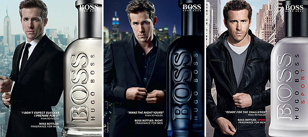 Музыка и видеоролик из рекламы Hugo Boss Bottled - Night (Ryan Reynolds)