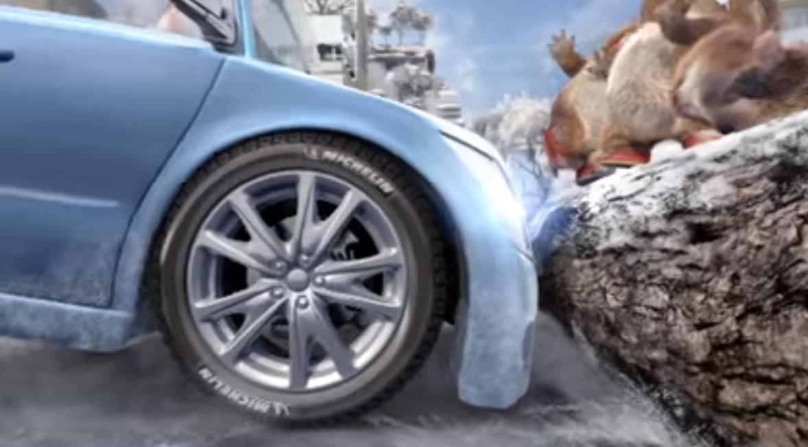 Музыка из рекламы Michelin x-ice north