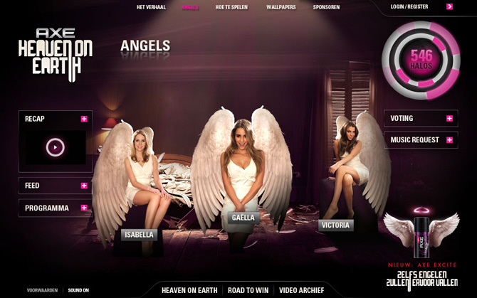 Музыка из рекламы Axe Lynx Excite – Even Angels Will Fall