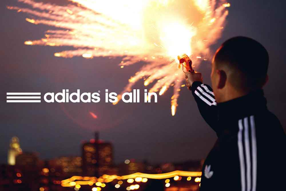 Музыка и видеоролик из рекламы Adidas - Is All In