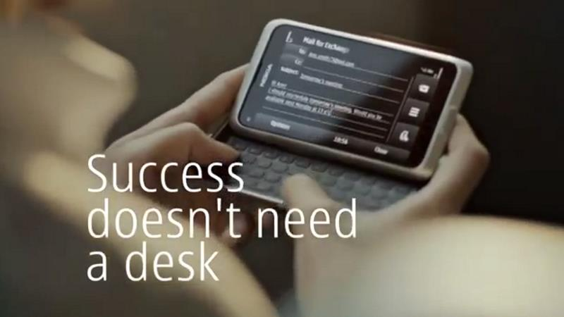 Музыка из рекламы Nokia E7 Smartphone Success - Geo