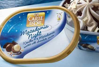 Музыка и видеоролик из рекламы Carte D'Or – Macadamia Night
