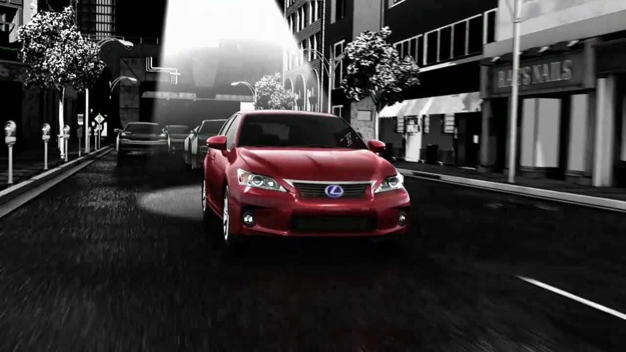 Музыка и видеоролик из рекламы Lexus CT Hybrid - Escape Convention