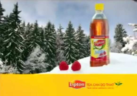 Музыка и видеоролик из рекламы Lipton Ice Tea - Зима не малина