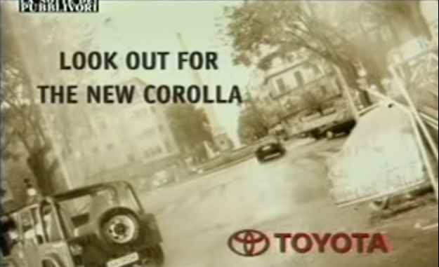 Музыка из рекламы Toyota Corolla - Look out for the new Corolla