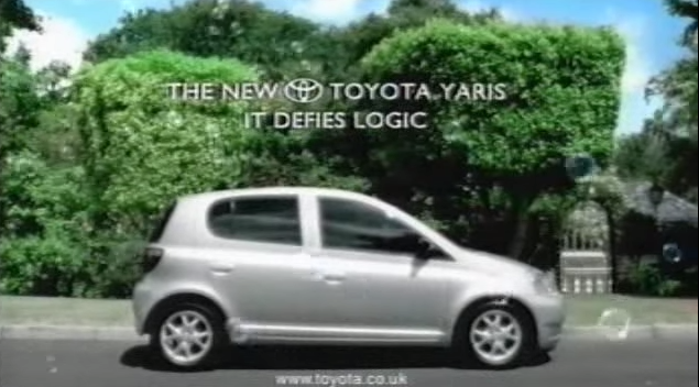 Музыка из рекламы Toyota Yaris - It Defies Logic