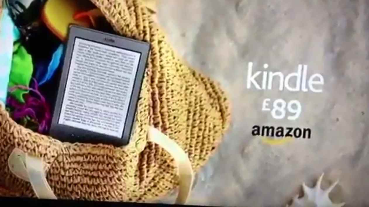 Музыка из рекламы Amazon All-New Kindle