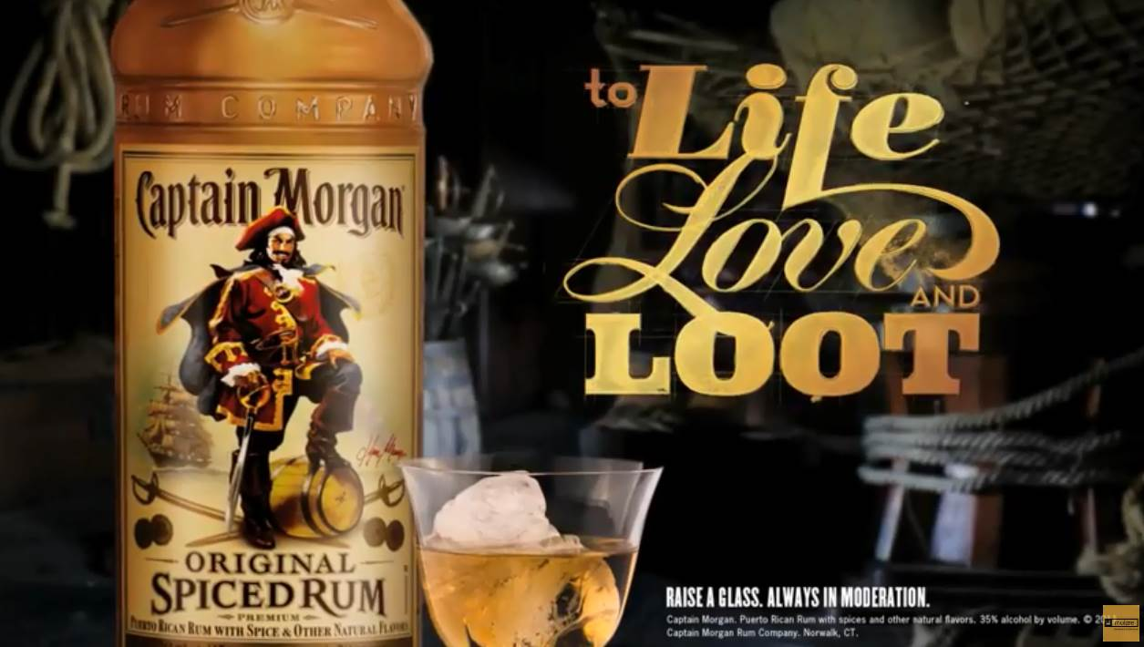 Музыка из рекламы Captain Morgan's  - To Life, Love & Loot