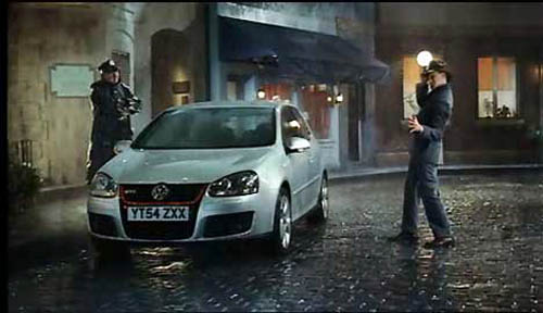 Музыка и видеоролик из рекламы VW GTI - Singing in the Rain