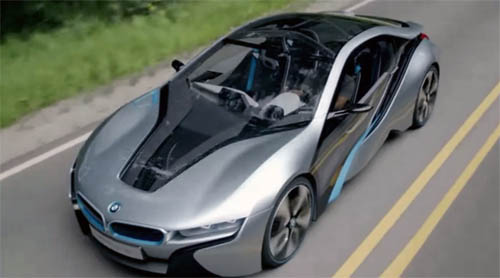 Музыка и видеоролик из рекламы BMW i - Born Electric