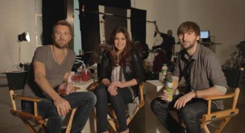Музыка и видеоролик из рекламы Lipton Ice Tea - Lady Antebellum