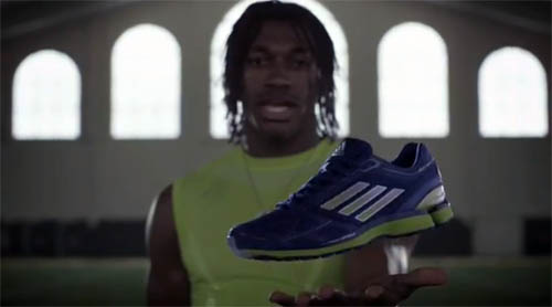 Музыка и видеоролик из рекламы Adidas Adizero Sonic - RGIII - What Light Can Do