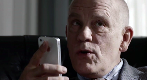 Музыка и видеоролик из рекламы Apple - iPhone 4S - John Malkovich