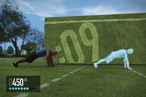 Музыка и видеоролик из рекламы Nike+ Kinect Training for XBOX360