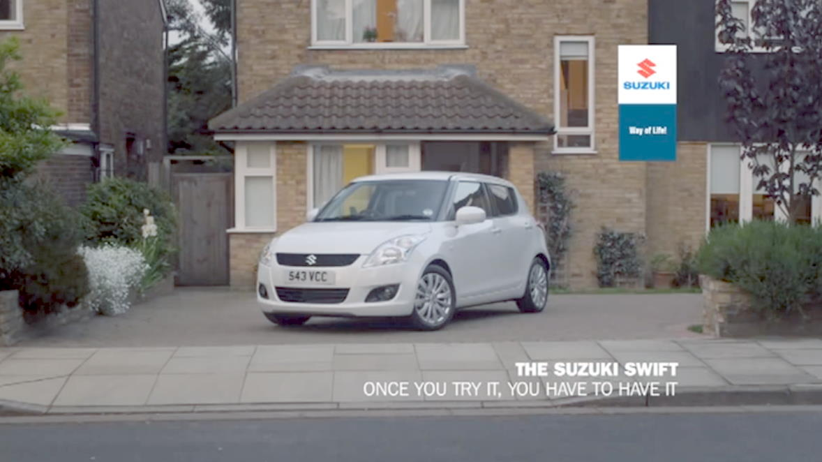 Музыка из рекламы Suzuki - The Never-ending Test Drive