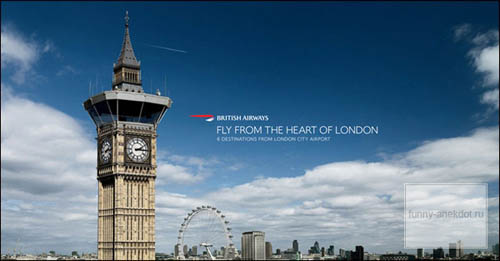 Музыка и видеоролик из рекламы British Airways - London 2012