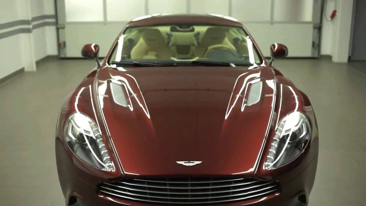 Музыка из рекламы Aston Martin Vanquish - A Bold New Breed of Aston Martin