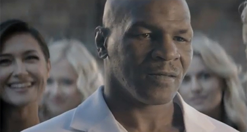 Музыка и видеоролик из рекламы Black Energy Drink - Mike Tyson