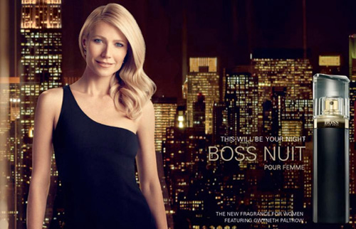 Музыка из рекламы Hugo Boss - Boss Nuit (Gwyneth Paltrow)