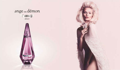 Музыка и видеоролик из рекламы Givenchy - Ange ou Demon (Natasha Poly)