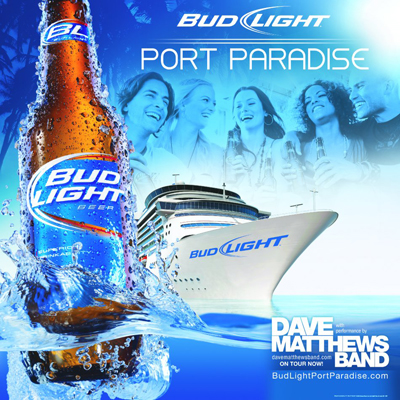 Музыка из рекламы Bud Light - Port Paradise Music Festival How It Went Down