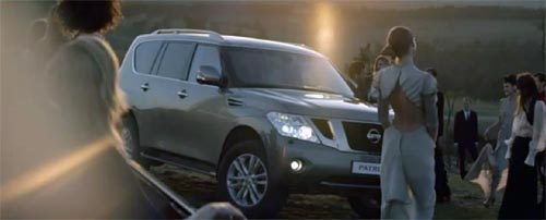 Музыка и видеоролик из рекламы Nissan Patrol - Welcome to Off-Road Exclusivity