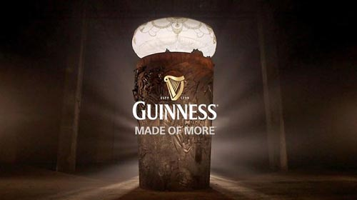 Музыка и видеоролик из рекламы Guinness - The Story of More