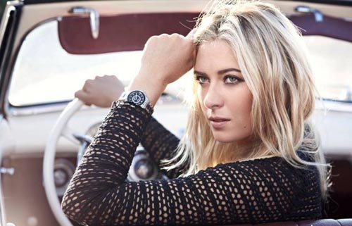 Музыка и видеоролик из рекламы TAG Heuer Ambassadors - Time for Rebels (Maria Sharapova)
