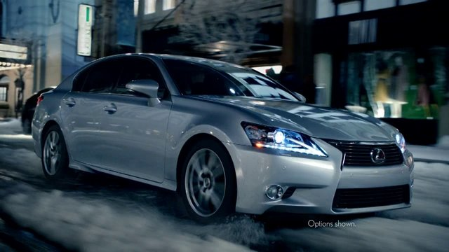 Музыка и видеоролик из рекламы Lexus All Weather Drive