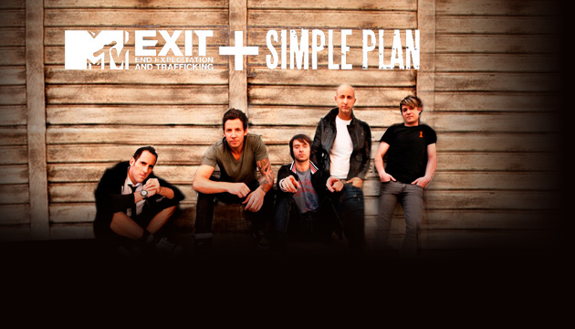 Музыка и видеоролик из рекламы MTV Exit + Simple Plan