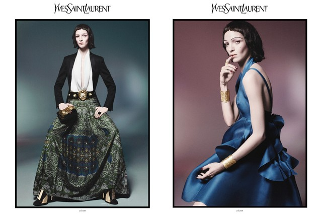 Музыка и видеоролик из рекламы Yves Saint Laurent - Spring-Summer 2012