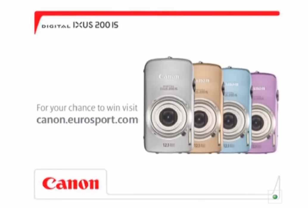 Музыка из рекламы Canon - IXUS 200IS