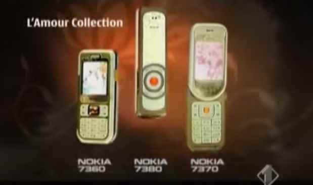 Музыка из рекламы Nokia L'Amour collection