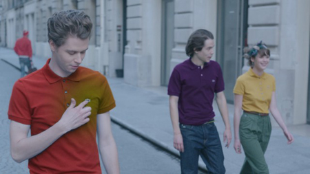 Музыка и видеоролик из рекламы Lacoste - Polo of the Future