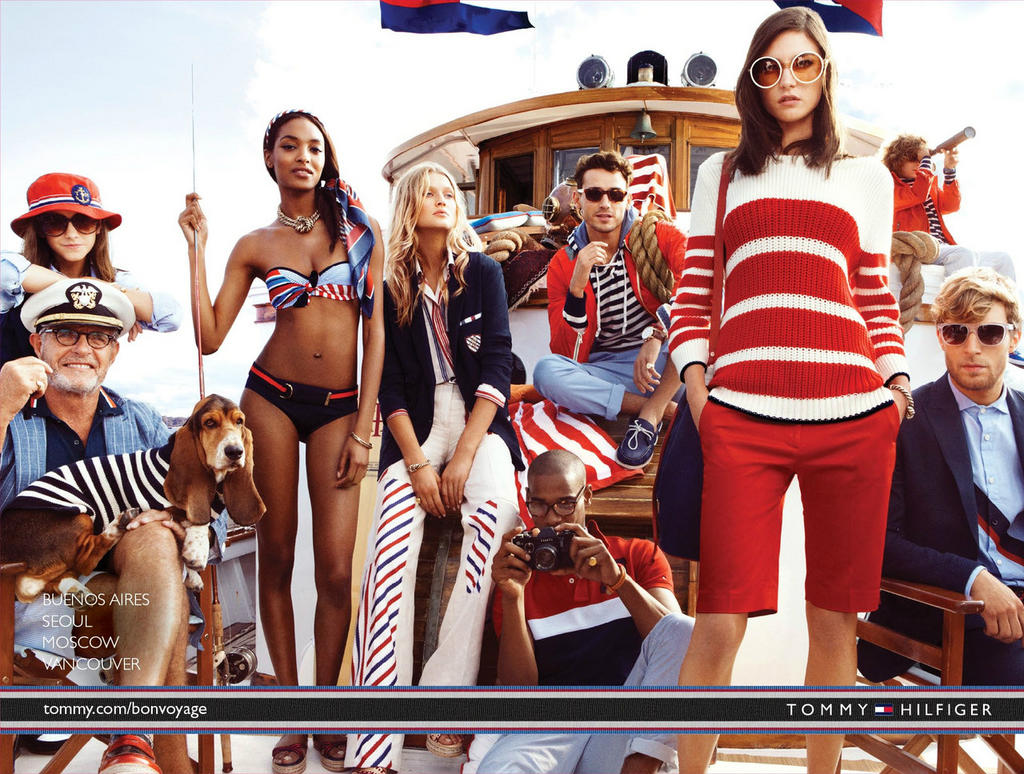 Музыка и видеоролик из рекламы Tommy Hilfiger - The Hilfigers In Voyage Seafarius