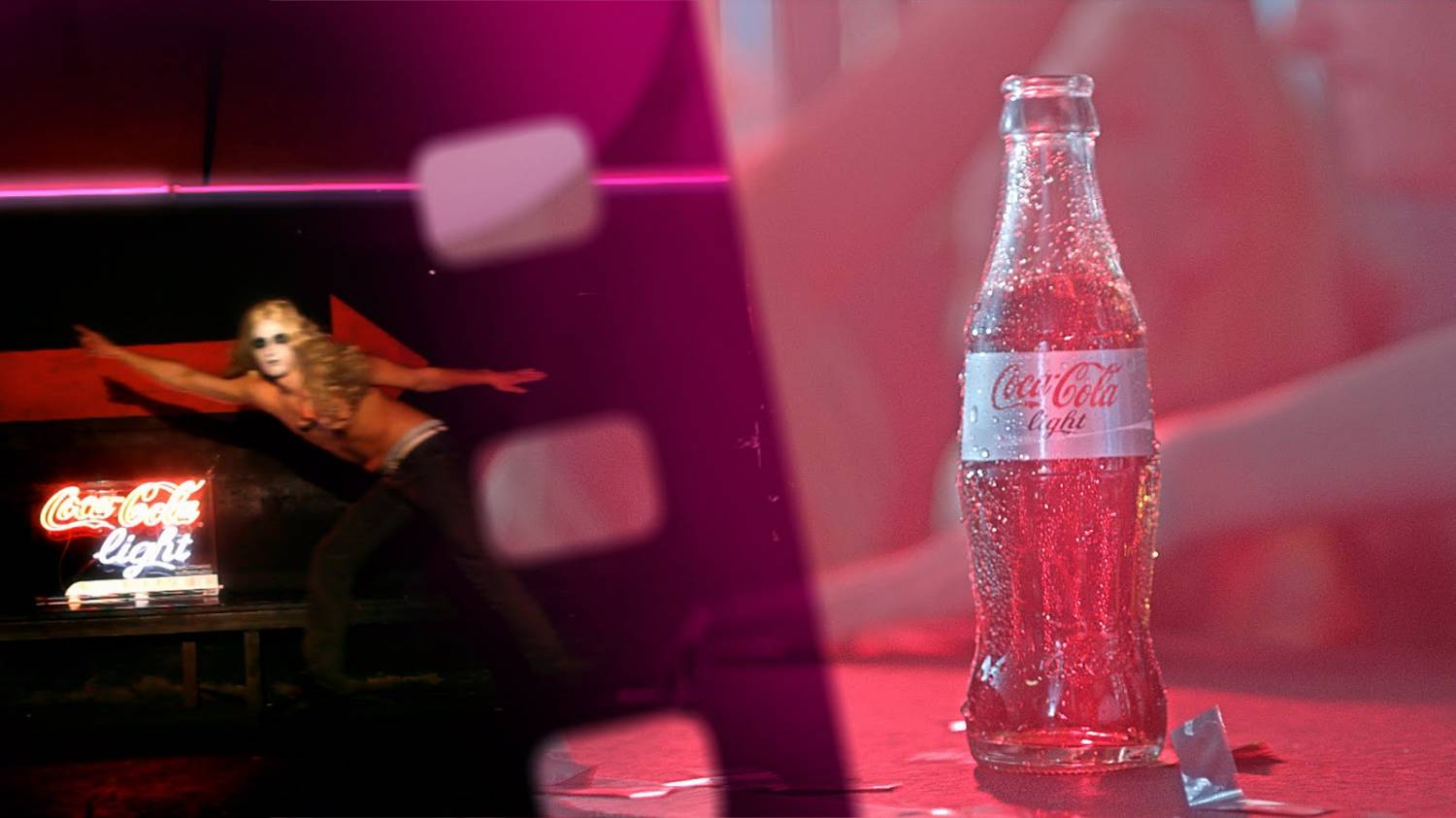 Музыка и видеоролик из рекламы Coca-Cola - Night Boost