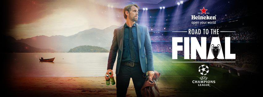 Музыка и видеоролик из рекламы Heineken - The Final, UEFA Champions League