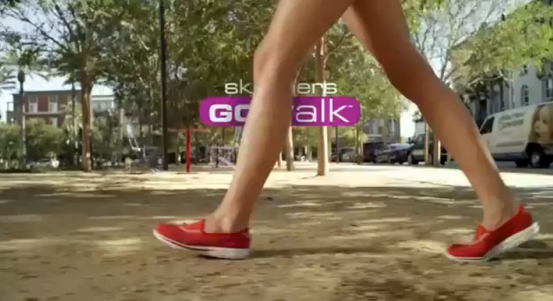 Музыка и видеоролик из рекламы Skechers Go Walk - From Sun Up to Sun Down