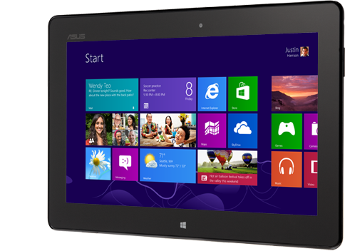 Музыка и видеоролик из рекламы Windows 8 Tablet - Less talking, more doing