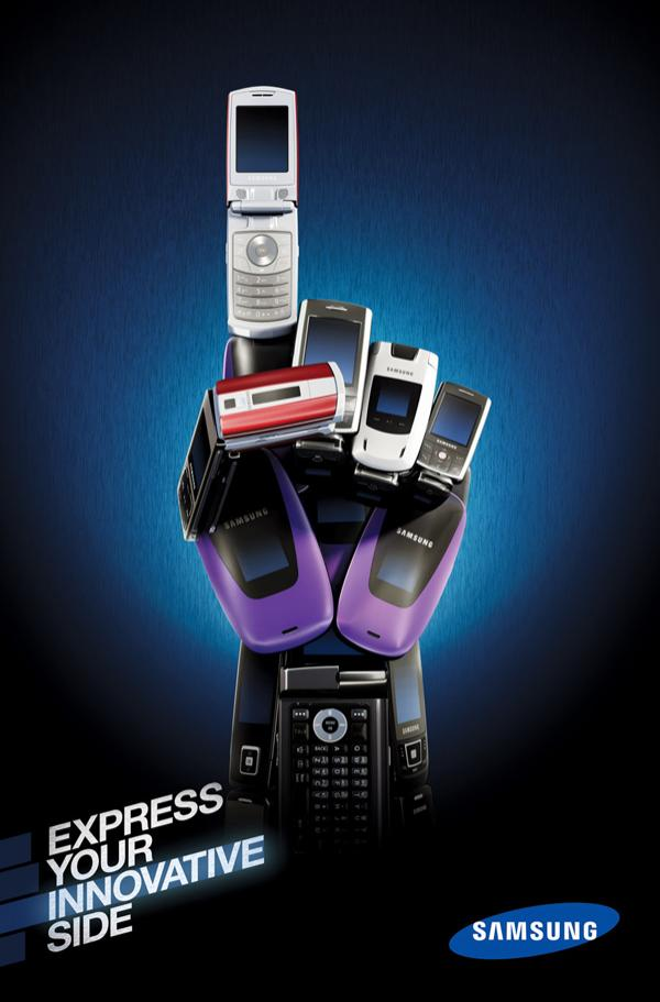 Музыка и видеоролик из рекламы Samsung - Express Yourself