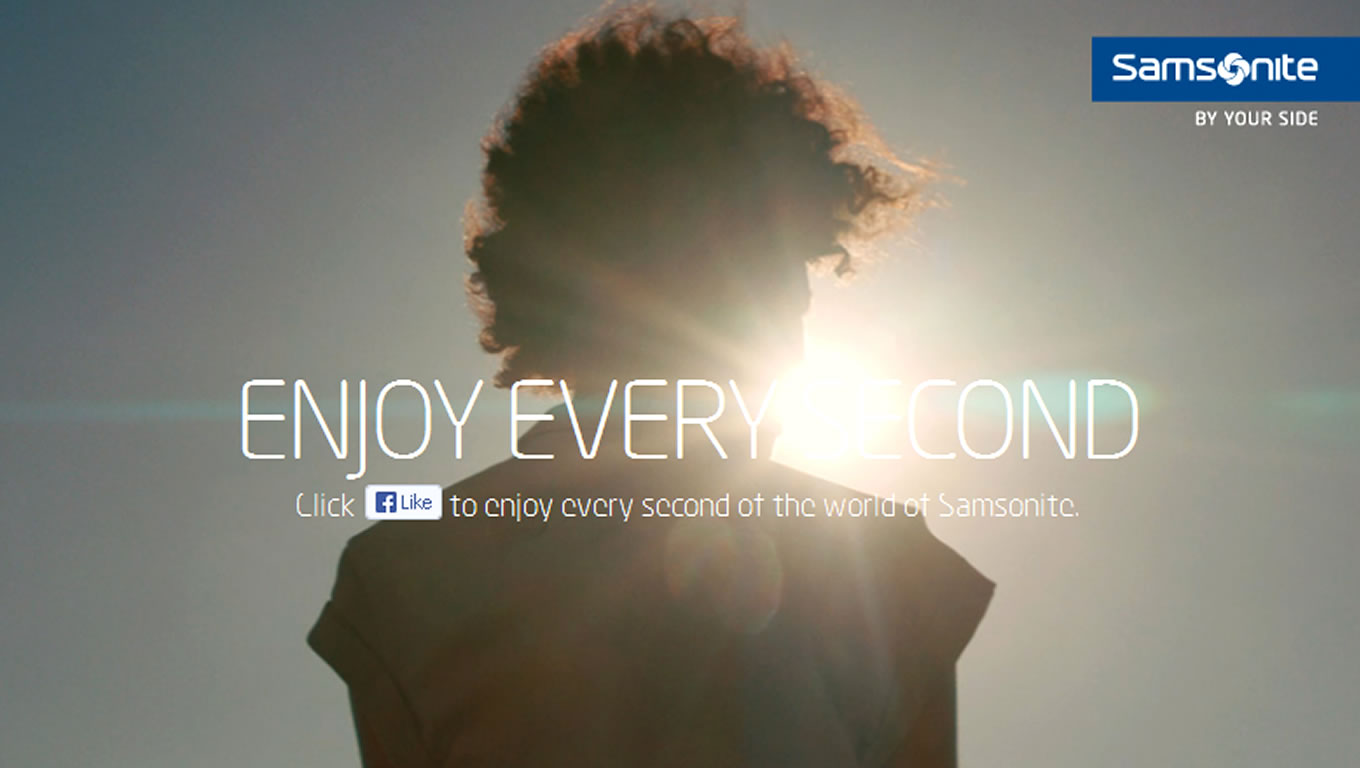 Музыка и видеоролик из рекламы Samsonite - Enjoy Every