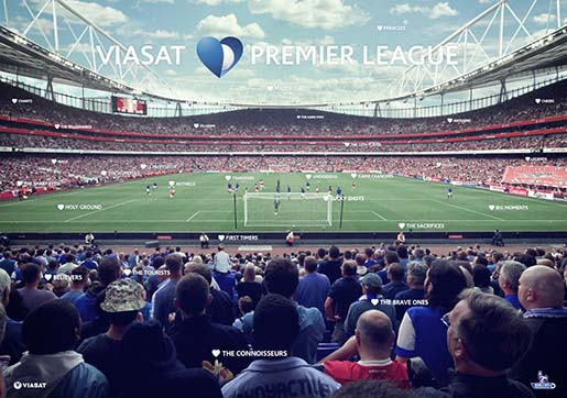 Музыка и видеоролик из рекламы Viasat - Premier League 2013