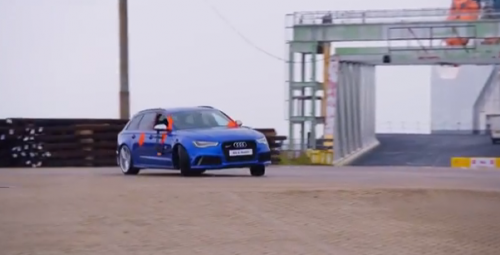 Музыка и видеоролик из рекламы Audi RS 6 Avant - Paint Battle
