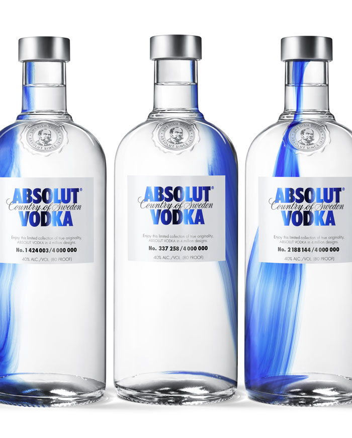 Музыка и видеоролик из рекламы Absolut - Blue Immersion