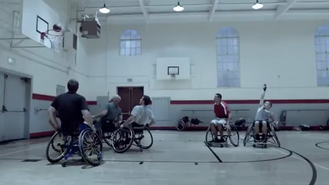 Музыка и видеоролик из рекламы Guinness - Wheelchairs Basketball