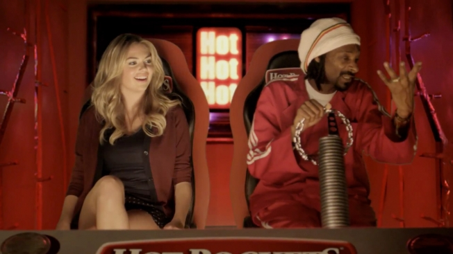 Музыка и видеоролик из рекламы Nestle - Hot Poсkets (Kate Upton & Snoop Dogg)